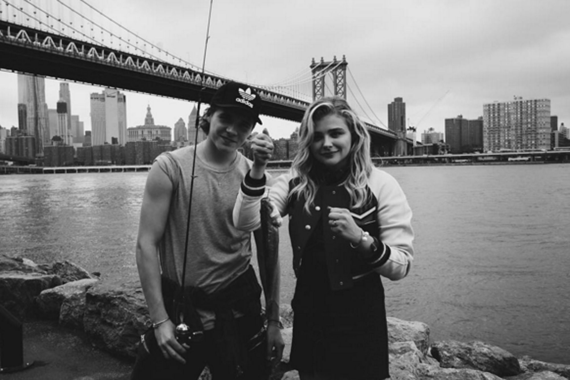 Brooklyn Beckham and Chloë Grace Moretz are not only back together, but they are also Instagram official again! (Photo: Instagram)