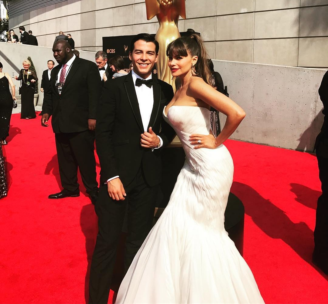 Sofia Vergara had her son Manolo Gonzalez when she was just 19 years old. (Photo: Instagram)