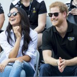 Prince Harry and Meghan Markle made their first public appearance together at the Invictus Games. (Photo: WENN)
