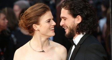 Game Of Thrones Co-Stars Kit Harington And Rose Leslie Are Finally Engaged!