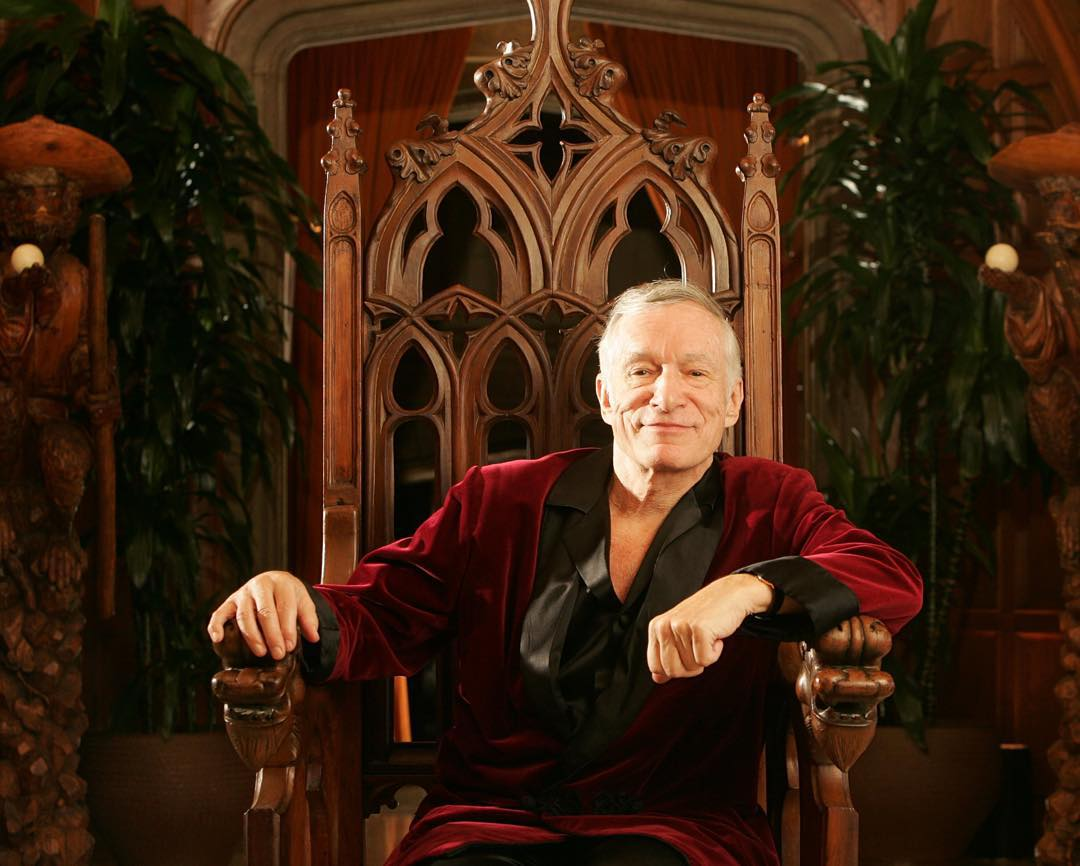 These are 15 things you probably didn't know about Hugh Martson Hefner, the founder and editor-in-chief of Playboy. (Photo: Instagram)