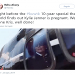 Well done Kris. Well done. (Photo: Twitter)