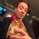 "The Tonight Show With Jimmy ""Pizza-Lover"" Fallon. (Photo: Instagram)"