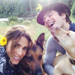 Ian Somerhalder, Nikki Reed, Nietzsche, and Ira (Photo: Instagram)