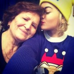 Though Rita Ora's grandma lives in Kosovo, they are very close. Granma Besa visits her in England every year. (Photo: Instagram)