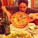 One slice is never enough, and Shailene Woodley knows it. (Photo: Instagram)