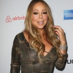 Mariah Care posing at the red carpet of the 3rd annual community gathering Airbnb Open. (Photo: WENN)