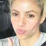 Shakira is working out the get her body in shape for her El Dorado World Tour. (Photo: Instagram)