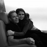 Selena Gomez snuggling up to her papa David Cornett. (Photo: Instagram)
