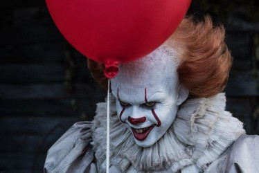 12 Spooky Pictures Of The It Movie Cast