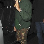 Pharrell Williams leaving the 34 Restaurant Mayfair in London. (Photo: WENN)