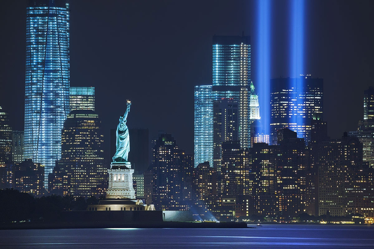Celebrities are honoring the victims on the 16th anniversary of the 9/11 attacks. (Photo: Archive)