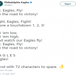 Fly, Eagles, Fly! (Photo: Twitter)
