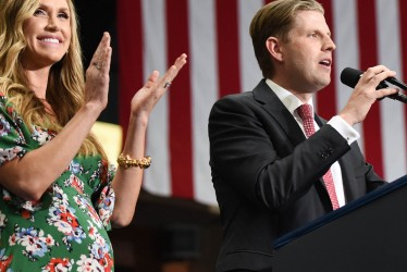 Eric Trump and His Wife Welcome Their First Baby