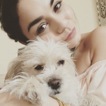 Vanesa Hudgens and Darla (Photo: Instagram)
