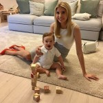 "In her word, spending time with her kids is Ivanka's ""best moment of the day"". (Photo: Instagram)"