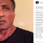 Silvester Stallone posted a video on Instagram sending his love to Mexico. (Photo: Instagram)