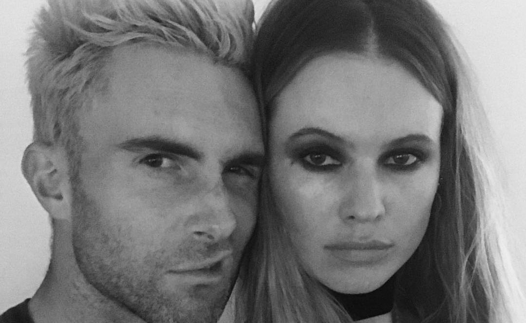 Adam Levine and Behati Prinsloo are expecting their second child together. (Photo: Instagram)