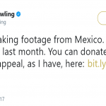 J.K. Rowling share a link where people can donate to help Mexico. (Photo: Twitter)
