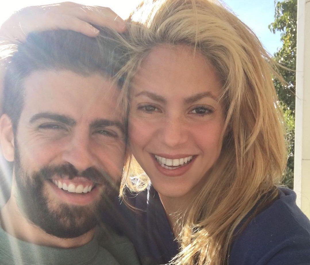 Piqué and Shakira could be on the brink of separation, according to the international press. (Photo: Instagram)