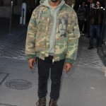 Kanye West at the Paris Fashion Week in 2015. (Photo: WENN)