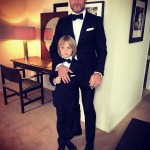 Live Schreiber brought a very cute date! (Photo: Instagram)