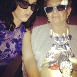 """My grandmother is in charge of my morals,"" Perry once said about her granny Ann Hudson. (Photo: Instagram)"