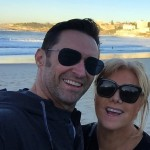 """I'm married to the greatest woman alive. She's amazing. We're best friends and we share everything."" Hugh Jackman gushing about Deborra-Lee. (Photo: Instagram)"