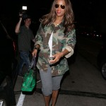Tyra Banks out and about in West Hollywood. (Photo: WENN)