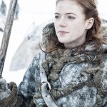 And Rose played and Ygritte. (Photo: WENN)