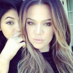 In 2015, big sister Khloe Kardashian urged her to stop lying about her lips. (Photo: Instagram)