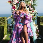 When she finally introduced her adorable baby twin, Sir and Rumi Carter, to the entire world. (Photo: Instagram)