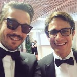 Gael García Bernal (right)—Plays Rodrigo de Souza in the Amazon Primer series Mozart in the Jungle. Starred as Neruda in the self-titled movie. Starred in A Little Bit of Heave as Kate Upton's character's love interest, Julian Goldstein. (Photo: Instagram)