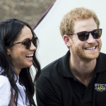 Both Harry and Meghan seemed very happy and relaxed. (Photo: WENN)