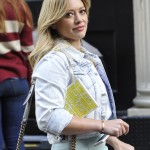 Back when she was a kid, Hilary Duff was home schooled. It started when she was eight years old. (Photo: WENN)