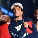 Bruno Mars, Broncos vs. Seahawks, 2014. (Photo: WENN)