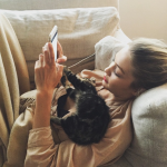Gigi Hadid and Cleo (Photo: Instagram)