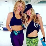 Shakira is working out with her long-time trainer Anna Kaiser. (Photo: Instagram)