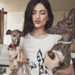 Kylie Jenner, Norman, and Bambi (Photo: Instagram)
