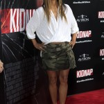 Halley Berry at the premiere of her movie Kidnap in Los Angeles. (Photo: WENN)