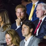 During the weekend, they were spotted sitting separated at the Invictus opening ceremony. Harry sat beside First Lady Melania Trump and Prime Minister Justin Trudeau. (Photo: WENN)