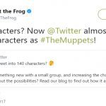 Even Kermit the Frog had something to say about it. (Photo: Twitter)
