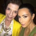 """So many memories you helped create! I love you so much!"" said Kim Kardashian of her grandma, Kriss Jenner's mom. (Photo: Instagram)"