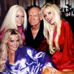 He was married 3 times, but he was known to be in public relationships with as many as 7 Playboy Bunnies. (Photo: WENN)
