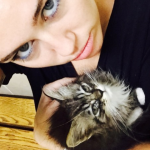 Miley Cyrus and Kiki (Photo: Instagram)