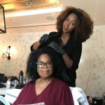 Oprah doesn't like getting ready for the Emmys either! (Photo: Instagram)