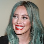 "She's had blue/green hair. ""I've never done anything like this. I was just in Cabo with my son Luca and I was staring at the ocean and I was like, 'I want that on my head.' So this happened,"" she told Ellen DeGeneres in an interview. (Photo: WENN)"