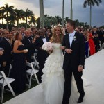 Eric and Lara married in 2014, in the family's resort in Florida. (Photo: Instagram)