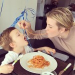Birthday noodles, an adorable Kushner-Trump family tradition. (Photo: Instagram)