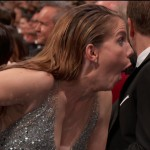 Or Anna Chlumsky's, who understandably became the meme of the night. (Photo: WENN)